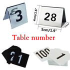 Внешний вид - Double Side Table Number Card for Seating Display Stand Restaurant Bar Wedding