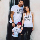 Couple T-Shirt Men Women Kids Baby Love Matching Shirts Family Clothes Tee Tops