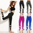 2017 Woman Yoga Fitness Pants GYM Dance Ballet Tie Wrap Tight Winding Leggings