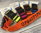 Personalised Holiday Luggage Strap - PINK, ORANGE, LIME GREEN OR OCEAN BLUE