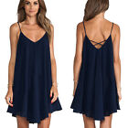 1pc Sexy Women Ladies Sleeveless Party Dress Evening Cocktail Casual Mini Dress