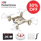 Syma X20 2.4G 6-Axis Gyro RC Quadcopter UFO Drones 360° Rolling Kids Helicopter