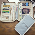 Travel Wallet Organizer Passport Holder Cover Small Large Card Storage New 2017