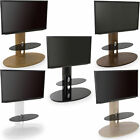 """AVF Chepstow Corner Cantilever TV Stand Wood For 32"""" to 65"""" LED CURVE OLED LCD"""