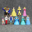 Beauty and the Beast 10pcs/set Belle Princess Action Figure Toys Kids Xmas Gifts