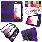 Hybrid Military Armor Case for Samsung iPad Rigid Plastic Defender Stand Cover