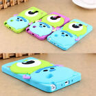 Monsters Cartoon Silicone Back Case Cover For Samsung Galaxy Note 4 &Note 3