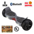 "UL2272 Hummer 8"" Bluetooth Speaker Self Balancing Wheel Electric Scooter"