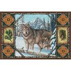 Wolf Lodge Art Tapestry Placemat 1099-PM ~ Made in USA