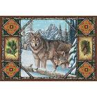 Wolf Lodge Art Tapestry Placemat 1099-PM Made in USA