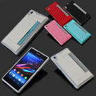 2016 Filp Cover Wallet Card Soft Case Skin For Sony Xperia Z1 L39h PU Leather