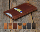 Individualized Samsung Leather Cover Case Credit Card Pocket Engrave Your Name