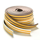 5M E/D/I-type Foam Draught Self Adhesive Window Door Excluder Rubber Seal fh