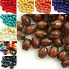 30g(200pcs About) Wooden Spacer Wood Beads Rice 6x4mm Jewelry Findings Making