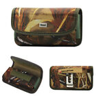 Reiko Camouflage Canvas Clip Case Card Pocket for Phones With Otterbox Commuter