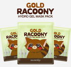 [SECRET KEY] Gold Racoony Hydro Gel Mask Pack Moisturization & Soothing
