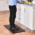 "3/4"" Non-Slip Anti-Fatigue Comfort Mats Floor Mat Kitchen 4 Size Brown And Black"