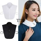 Korean Fashion Lady Stylish Women's Removable Detachable Faux Lapel Shirt TXSU