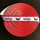 "7/8"" Washington Capitals Border Grosgrain Ribbon by the Yard (USA SELLER!) $6.49 USD on eBay"