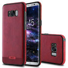 SLIM PU Leather Case For Samsung Galaxy S8 Plus Luxury Shockproof Bumper Cover