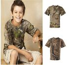 Code V - Youth Realtree® Camouflage Short Sleeve T-Shirt - 2280 XS-L