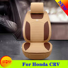 Yes 6 Color Fit Honda CRV 3D surrounded Chair Cushion Leather Mat Car Seat Cover