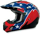 AFX FX 17 Red White Blue Rebel ATV MX Offroad Helmet Choose Size