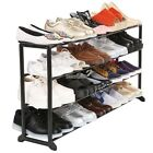 Household 4/7/10 Tiers Shoe Rack Stand Shelf 20-50 Pairs Shoes Storage Organizer