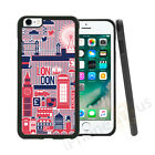 Quirky London Landmark Grip Side Gel Case Cover For All Top Mobile Phones