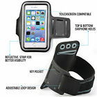 Adjustable Strap Gym Workout Sports Running Cycle Pouch Case Cover Holder BLACK