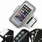 Adjustable Strap Gym Workout Sports Running Cycle Pouch Case Cover Holder GREY