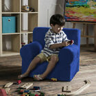 Jaxx Julep Kids Polyurethane Arm Chair with Microsuede Cover