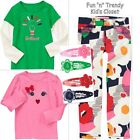 NWT 4-PC SET Gymboree BRIGHTEST IN CLASS Girls Size 5 Pants Shirt Top Hair Clips