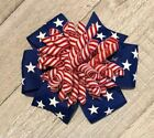 Patriotic Suzie Q Korker Hair Bow