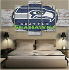 Seattle Seahawks Picture Canvas Abstract Painting Wall Modern Art Home Decor