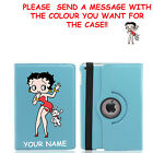 Betty Boop & Pudgy Rotating Birthday Case Cover iPad mini 1 2 3, Air, Pro £11.15 GBP