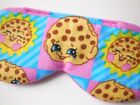 Shopkins Sleep Eye Mask Night Cookie Kooky Blindfold Girl Kid Pink Cover Shade