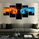 5Pcs Fighting Sport Boy Picture Canvas Painting Wall Modern Art Home Decor-DW135
