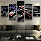 The Gun American Picture Canvas Painting Large Farmed Wall Modern Art Home Decor
