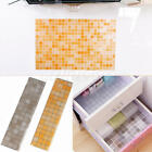 Oil Water Proof Mosaic Tile Foil Kitchen Backsplash Wall Paper Wall Stickers