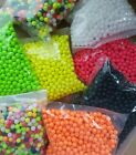 100 / 200 / 500 8mm Fishing Beads. UK MADE Top Quality Super Bright Rig Making