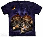 Wolf Sky T-Shirt from The Mountain - Adult S - 5X