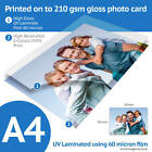 A4 Bordeless Custom Printed Gloss Photo Prints with 3 Great Finishes Available