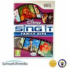 Disney Sing It : Family Hits (Wii) **GREAT CONDITION**