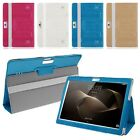 """Universal Flip Leather Folding Stand Case Cover Shell For Most 10.1"""" Tablet PC"""