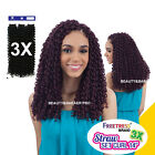 """FREETRESS Synthetic Crochet Braid - 3X STRAW SET CURL 14"""", 3 in 1 value pack"""