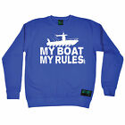 My Boat My Rules Drowning Worms SWEATSHIRT birthday gift gear funny fishing