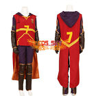 Harry Potter Quidditch Robe Gryffindor Hermione Jean Granger Costume Cosplay