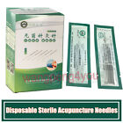 LUOYA Disposable Single Acupuncture Spring Handle Needles with Tubes 500 1000