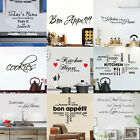 kitchen wall decor - Kitchen Wall Stickers Vinyl Art Home Decor Quote Removable Decals For Food Store